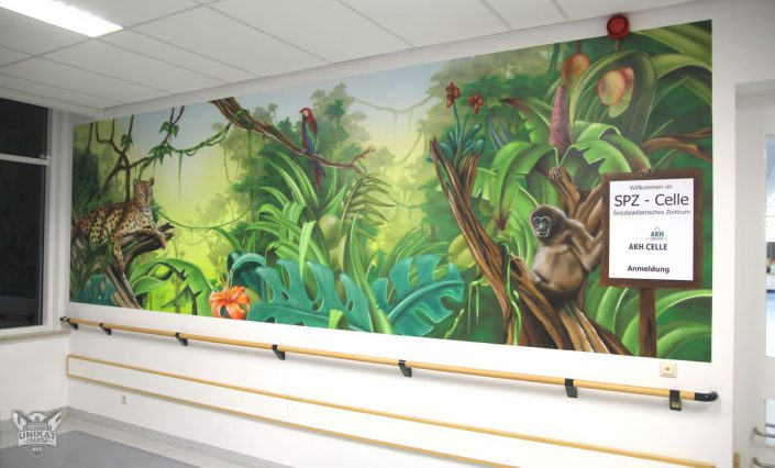 Jungle Graffiti
