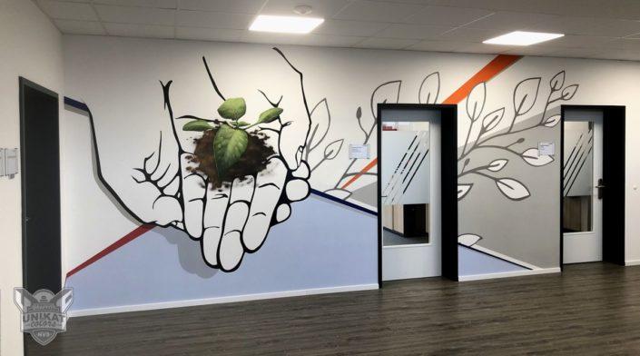 Graffiti Hände