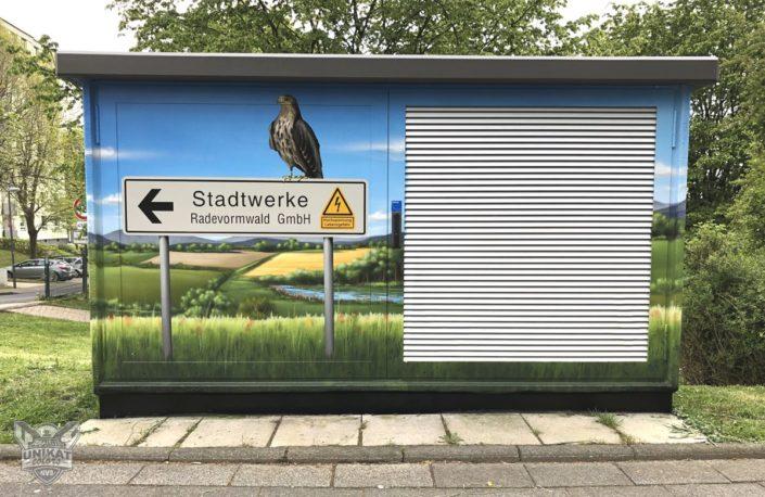 Graffiti Stromkasten