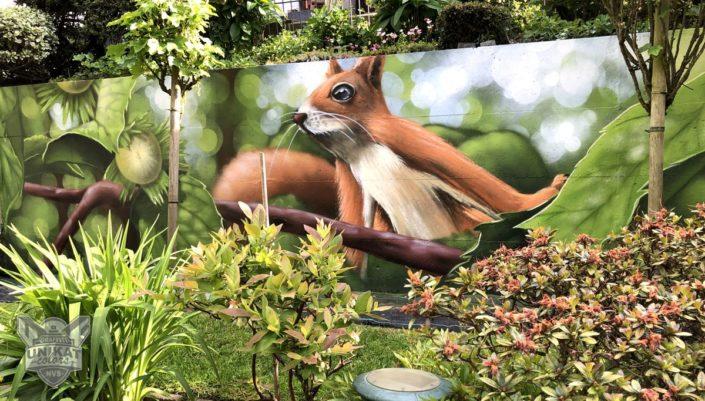 Graffiti Eichhörnchen