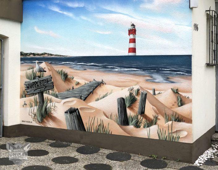 Graffiti Leutturm