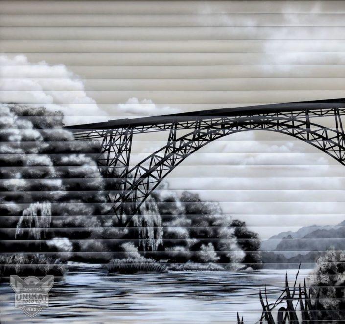 Graffiti Brücke