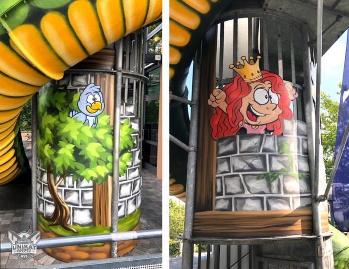 Graffiti Rutsche