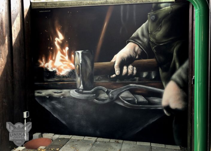 Historisches Graffiti