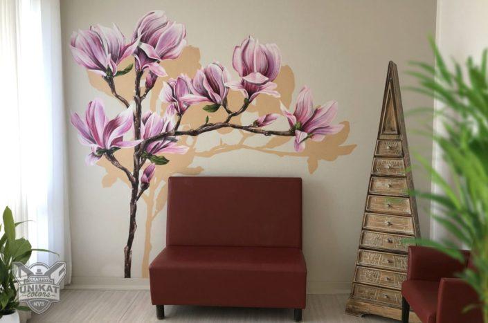 Wandgestaltung Arzt Praxis