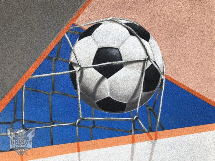 Graafiti Fußball