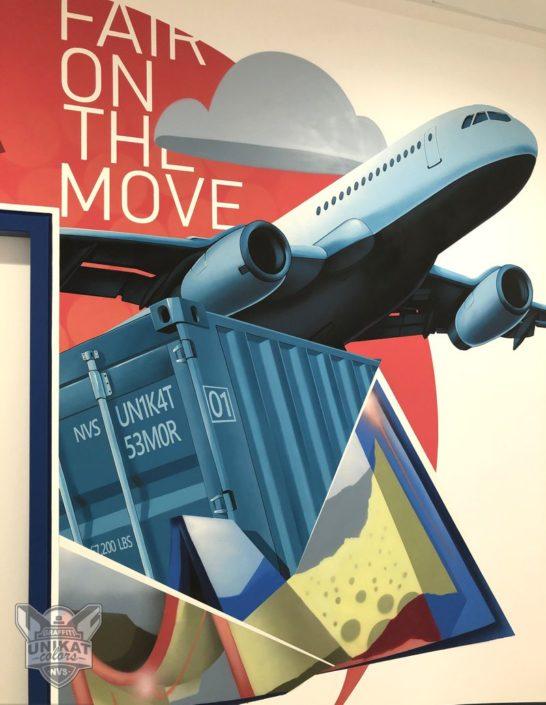 Graffiti Flugzeug