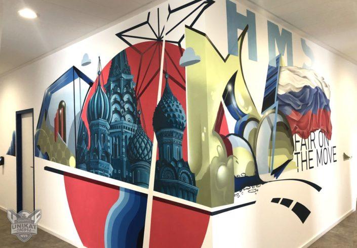Graffiti Russland