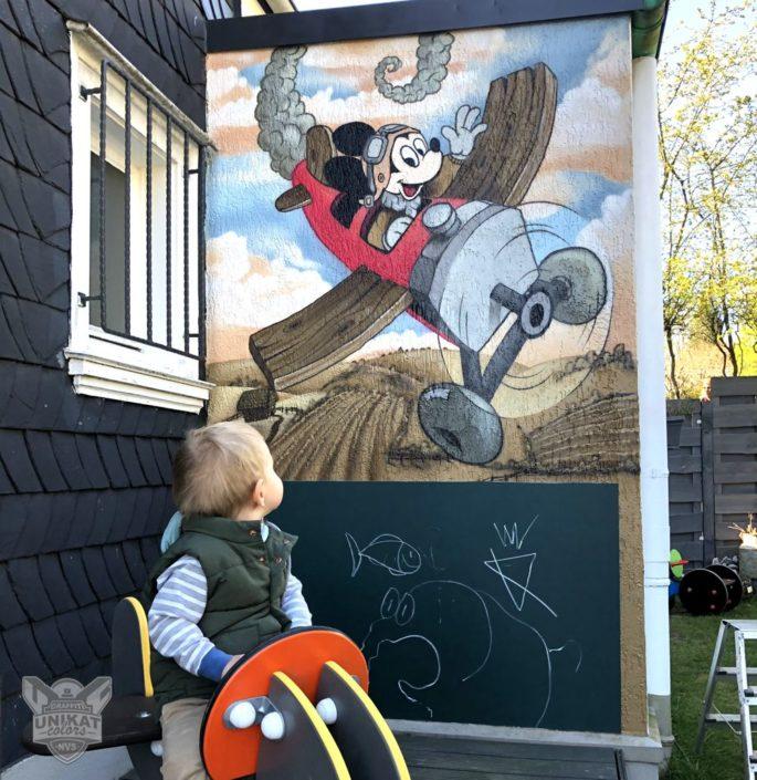 Graffiti Mickey Maus
