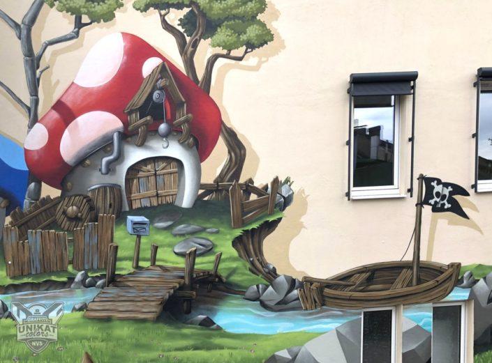 Pilz Graffiti