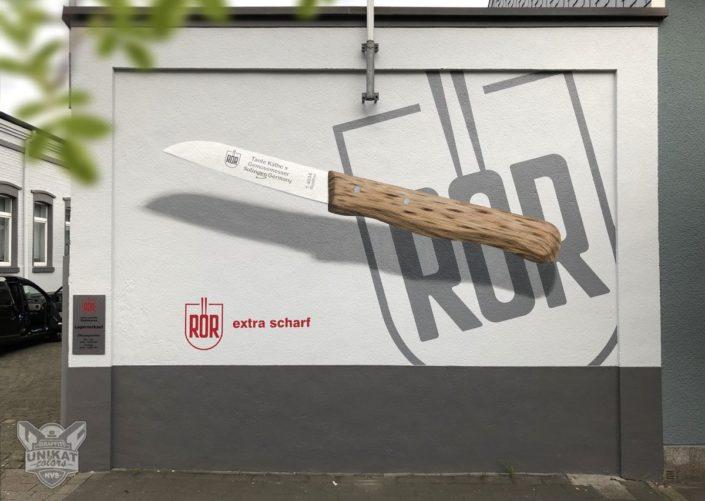 Werbegestaltung Graffiti