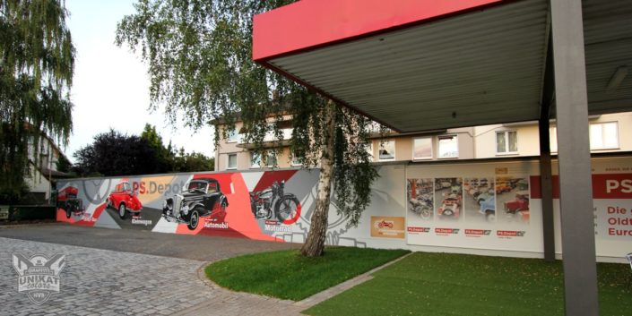 Graffiti Außenwand