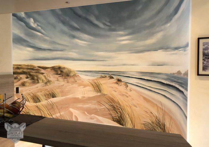 Wandgestaltung Ostsee