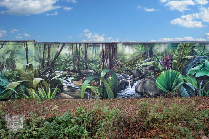 Graffiti Wald