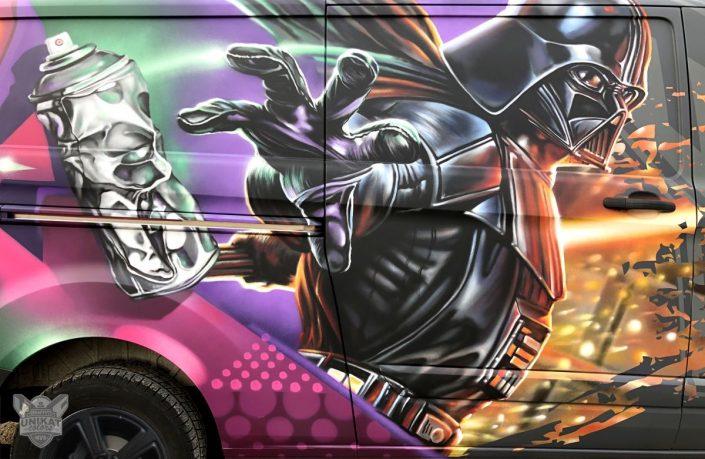 Graffiti Darth vader