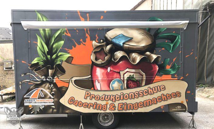 Graffiti Werbung Anhänger