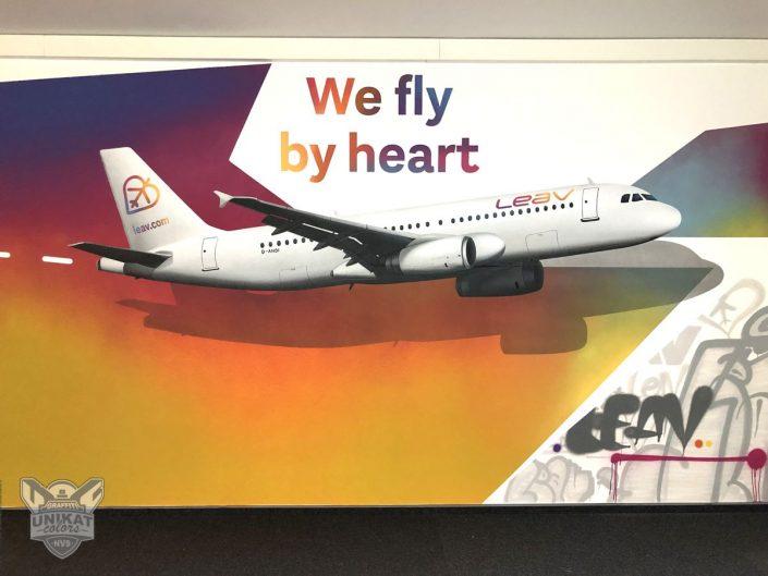 Plane Graffiti