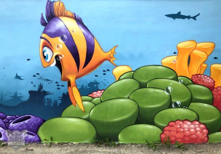 Graffiti Fisch